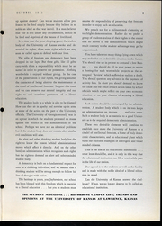 Page 11, 1942 Edition, University of Kansas - Jayhawker Yearbook (Lawrence, KS) online yearbook collection