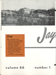 Page 8, 1954 Edition, University of Kansas - Jayhawker Yearbook (Lawrence, KS) online yearbook collection