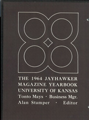 Page 2, 1964 Edition, University of Kansas - Jayhawker Yearbook (Lawrence, KS) online yearbook collection