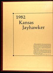 Page 2, 1982 Edition, University of Kansas - Jayhawker Yearbook (Lawrence, KS) online yearbook collection