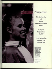 Page 5, 1994 Edition, University of Kansas - Jayhawker Yearbook (Lawrence, KS) online yearbook collection