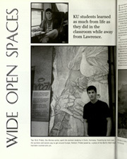 Page 22, 2001 Edition, University of Kansas - Jayhawker Yearbook (Lawrence, KS) online yearbook collection