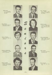 Page 15, 1951 Edition, North Sevier High School - Northern Light Yearbook (Salina, UT) online yearbook collection