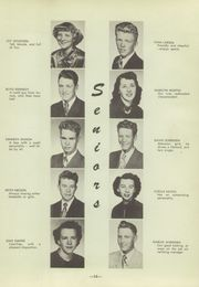 Page 17, 1951 Edition, North Sevier High School - Northern Light Yearbook (Salina, UT) online yearbook collection
