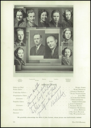 Page 10, 1938 Edition, Natrona County High School - Mustang Yearbook (Casper, WY) online yearbook collection