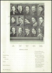 Page 11, 1938 Edition, Natrona County High School - Mustang Yearbook (Casper, WY) online yearbook collection