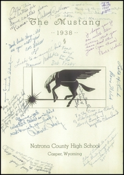 Page 5, 1938 Edition, Natrona County High School - Mustang Yearbook (Casper, WY) online yearbook collection