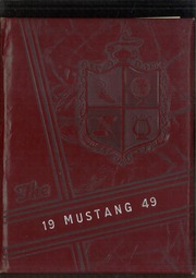 1949 Edition, Natrona County High School - Mustang Yearbook (Casper, WY)