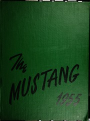 1955 Edition, Natrona County High School - Mustang Yearbook (Casper, WY)