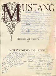 Page 5, 1956 Edition, Natrona County High School - Mustang Yearbook (Casper, WY) online yearbook collection