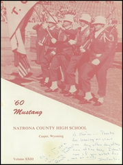 Page 5, 1960 Edition, Natrona County High School - Mustang Yearbook (Casper, WY) online yearbook collection