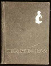 1966 Edition, Natrona County High School - Mustang Yearbook (Casper, WY)