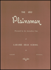 Page 9, 1950 Edition, Laramie High School - Plainsman Yearbook (Laramie, WY) online yearbook collection