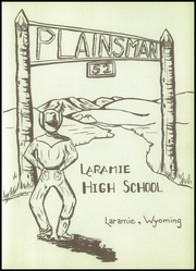 Page 7, 1952 Edition, Laramie High School - Plainsman Yearbook (Laramie, WY) online yearbook collection