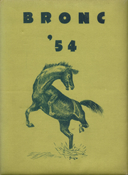 1954 Edition, Sheridan High School - Blue and Gold Yearbook (Sheridan, WY)
