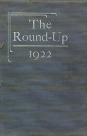 Page 1, 1922 Edition, Rawlins High School - Round Up Yearbook (Rawlins, WY) online yearbook collection