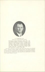 Page 17, 1922 Edition, Rawlins High School - Round Up Yearbook (Rawlins, WY) online yearbook collection