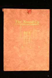 Page 1, 1923 Edition, Rawlins High School - Round Up Yearbook (Rawlins, WY) online yearbook collection