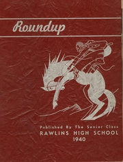 Rawlins High School - Round Up Yearbook (Rawlins, WY) online yearbook collection, 1940 Edition, Page 1