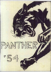 Powell High School - Panther Yearbook (Powell, WY) online yearbook collection, 1954 Edition, Page 1
