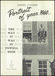 Page 7, 1960 Edition, Powell High School - Panther Yearbook (Powell, WY) online yearbook collection