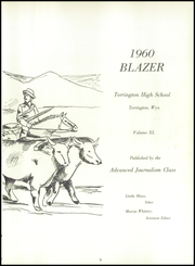 Page 7, 1960 Edition, Torrington High School - Blazer Yearbook (Torrington, WY) online yearbook collection