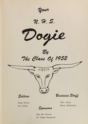 Page 7, 1952 Edition, Newcastle High School - Yearbook (Newcastle, WY) online yearbook collection
