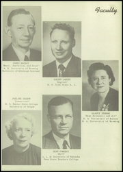 Page 11, 1952 Edition, Kemmerer High School - Ranger Yearbook (Kemmerer, WY) online yearbook collection