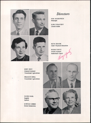 Page 12, 1958 Edition, Greybull High School - Paintbrush Yearbook (Greybull, WY) online yearbook collection