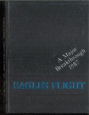 1987 Edition, Lyman High School - Eagles Flight Yearbook (Lyman, WY)
