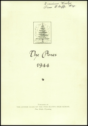 Page 3, 1944 Edition, Pine Bluffs High School - Pines Yearbook (Pine Bluffs, WY) online yearbook collection