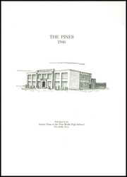 Page 3, 1946 Edition, Pine Bluffs High School - Pines Yearbook (Pine Bluffs, WY) online yearbook collection