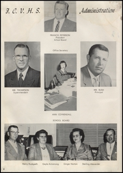 Page 8, 1952 Edition, Fremont County High School - Tiger Yearbook (Lander, WY) online yearbook collection
