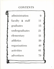 Page 7, 1970 Edition, Dubois Area High School - Ram Yearbook (Dubois, WY) online yearbook collection