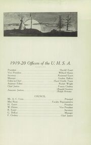 Page 15, 1920 Edition, University Preparatory School - Tassakooma Yearbook (Laramie, WY) online yearbook collection