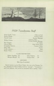 Page 17, 1920 Edition, University Preparatory School - Tassakooma Yearbook (Laramie, WY) online yearbook collection