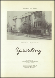Page 7, 1949 Edition, University Preparatory School - Tassakooma Yearbook (Laramie, WY) online yearbook collection