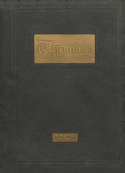 1926 Edition, Johnson County High School - Wyomalo Yearbook (Buffalo, WY)