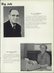 Page 13, 1958 Edition, Johnson County High School - Wyomalo Yearbook (Buffalo, WY) online yearbook collection
