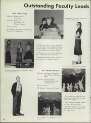 Page 14, 1958 Edition, Johnson County High School - Wyomalo Yearbook (Buffalo, WY) online yearbook collection