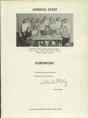 Page 5, 1957 Edition, Manderson Hyattville High School - Demon Yearbook (Manderson, WY) online yearbook collection