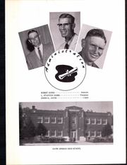 Page 7, 1958 Edition, Hawk Springs High School - Hawk Yearbook (Hawk Springs, WY) online yearbook collection