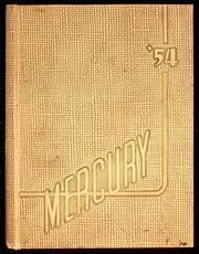 1954 Edition, Riverside High School - Mercury Yearbook (Milwaukee, WI)