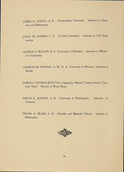 Page 17, 1908 Edition, University of Washington - Tyee Yearbook (Seattle, WA) online yearbook collection