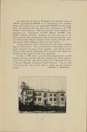 Page 13, 1909 Edition, University of Washington - Tyee Yearbook (Seattle, WA) online yearbook collection
