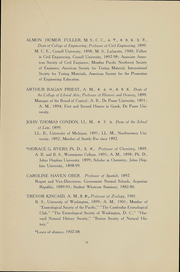 Page 17, 1909 Edition, University of Washington - Tyee Yearbook (Seattle, WA) online yearbook collection
