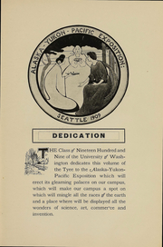 Page 5, 1909 Edition, University of Washington - Tyee Yearbook (Seattle, WA) online yearbook collection