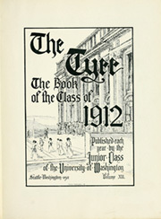 Page 7, 1912 Edition, University of Washington - Tyee Yearbook (Seattle, WA) online yearbook collection