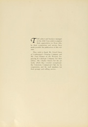 Page 10, 1922 Edition, University of Washington - Tyee Yearbook (Seattle, WA) online yearbook collection