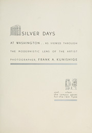 Page 13, 1931 Edition, University of Washington - Tyee Yearbook (Seattle, WA) online yearbook collection